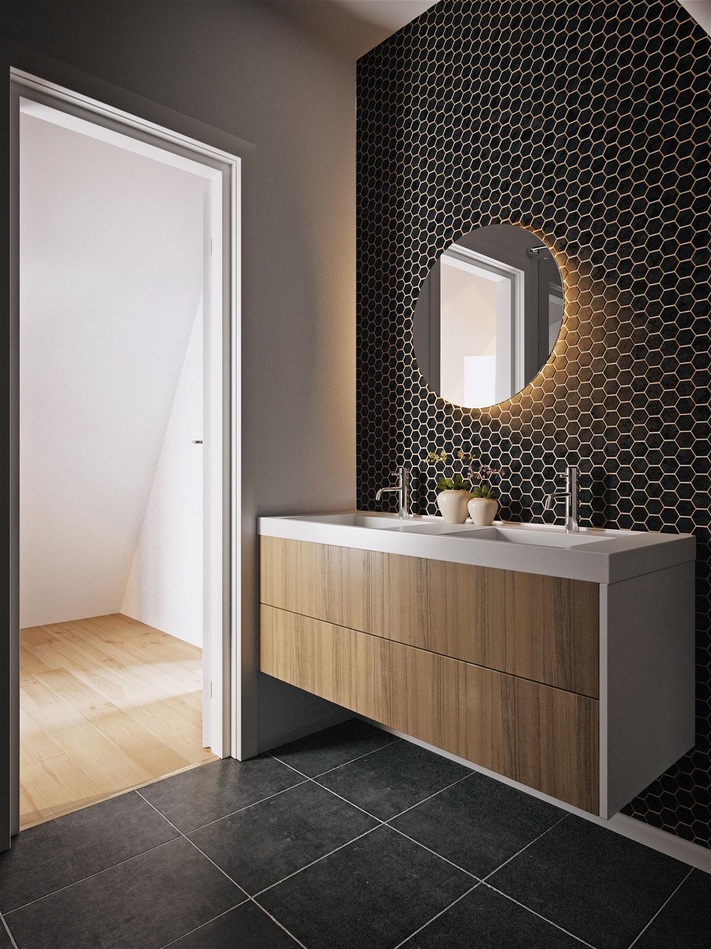 Interior faraday3d visualization 3D architecture