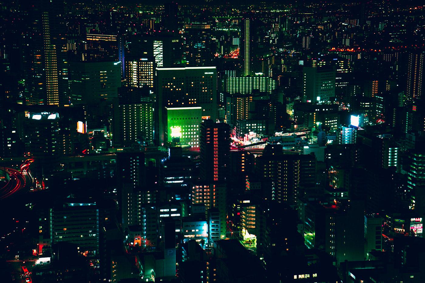 Temmabashi Cyberpunk Style Free Lightroom Preset on Behance