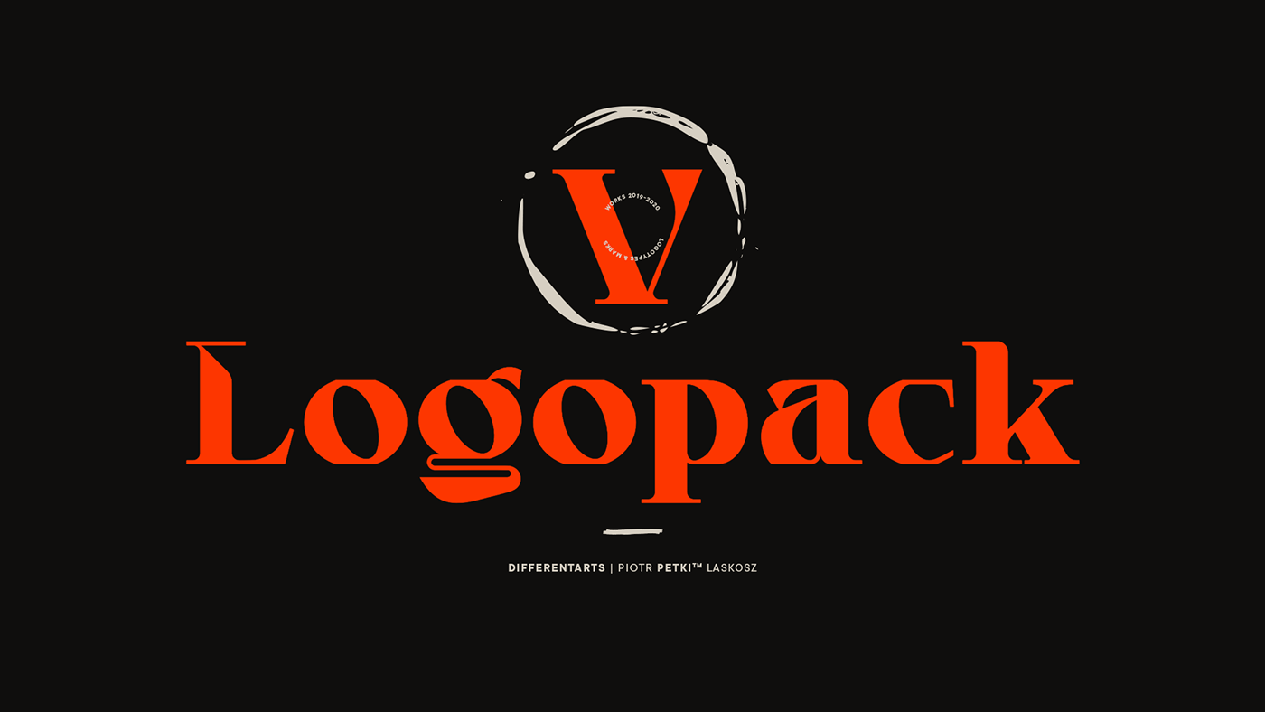 Laskosz Logo Pack Logo works logopack logos logoset markpack petki selected typographypack