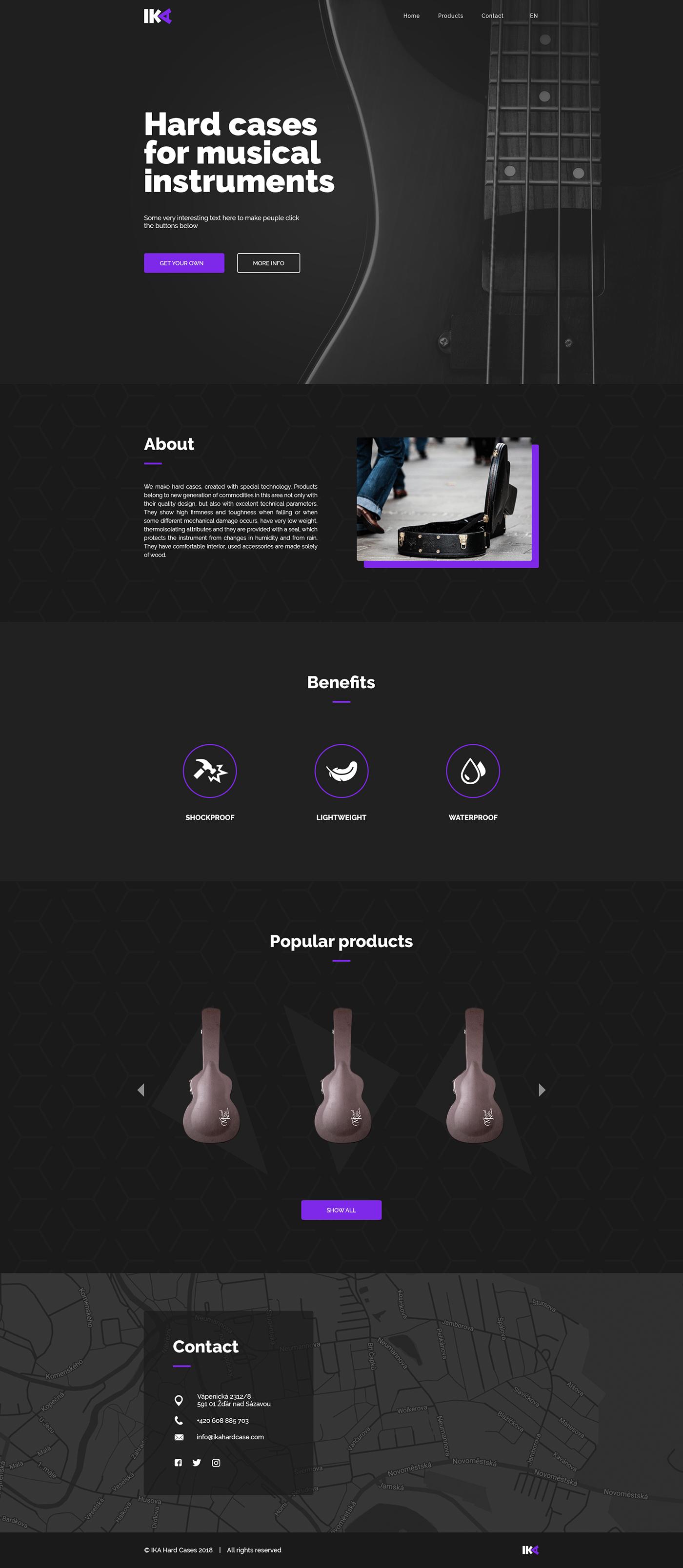 black elegant instrument music Musical Instrument Web Webdesign