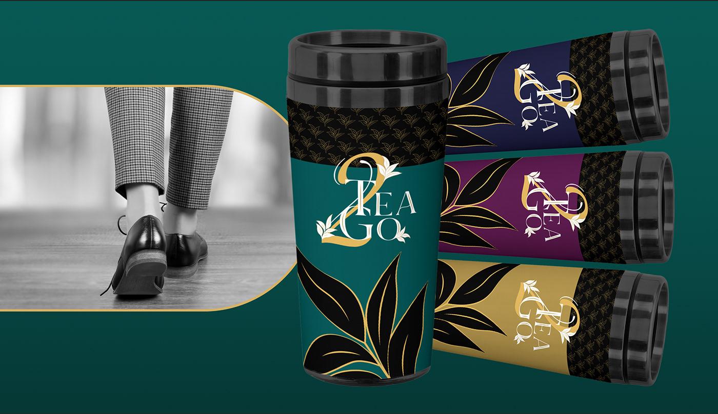 tea2go, tea flag, tea mug