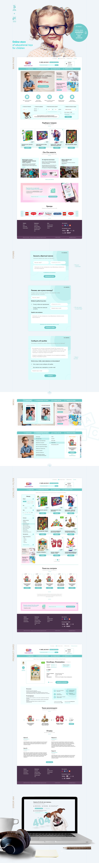 ui design Web Design  e-shop e-commerce presentation pdf SMM e-mail newsletter
