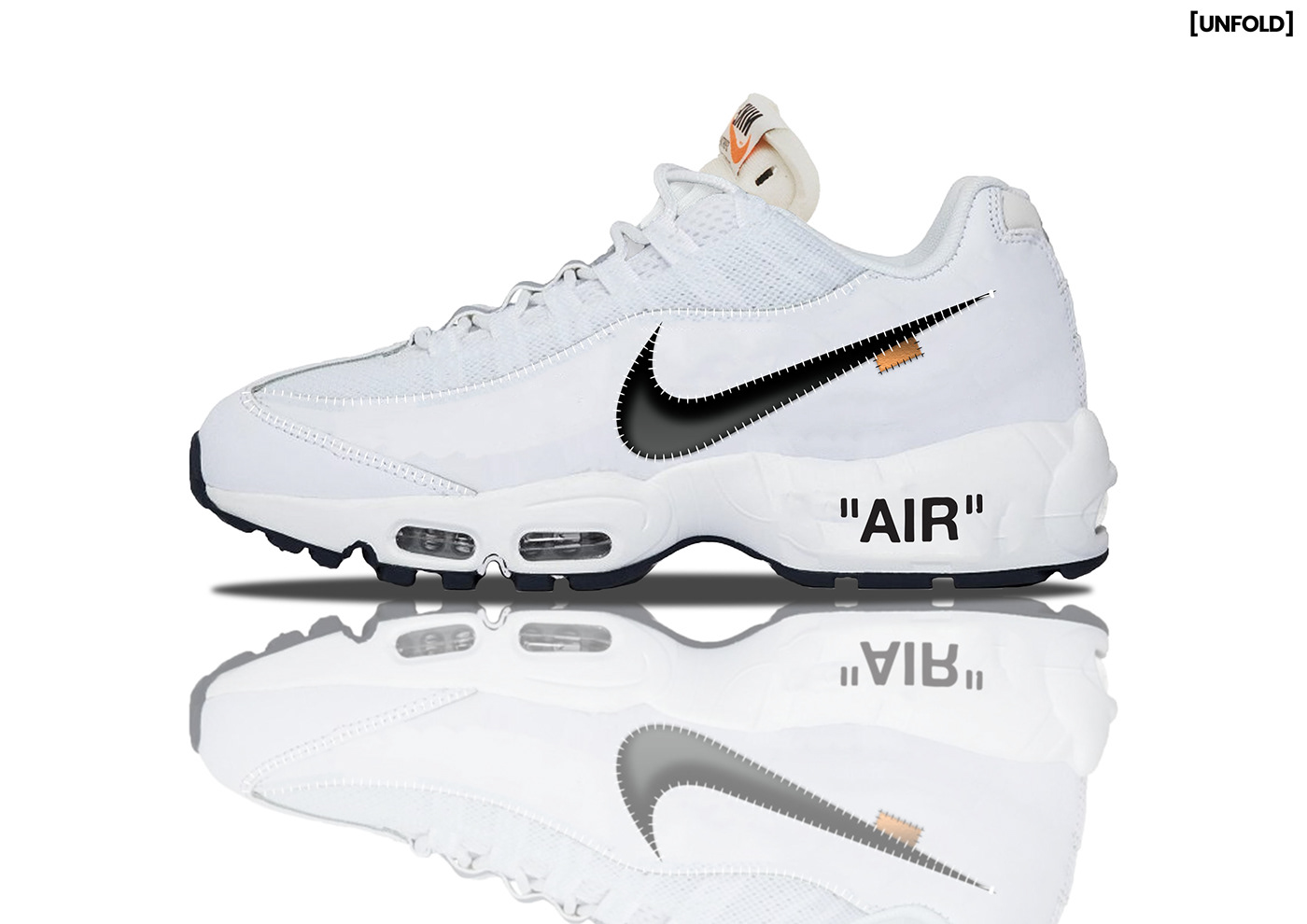 f1fcc900cf4c Off-White X Nike Air Max 95 Concept on Behance