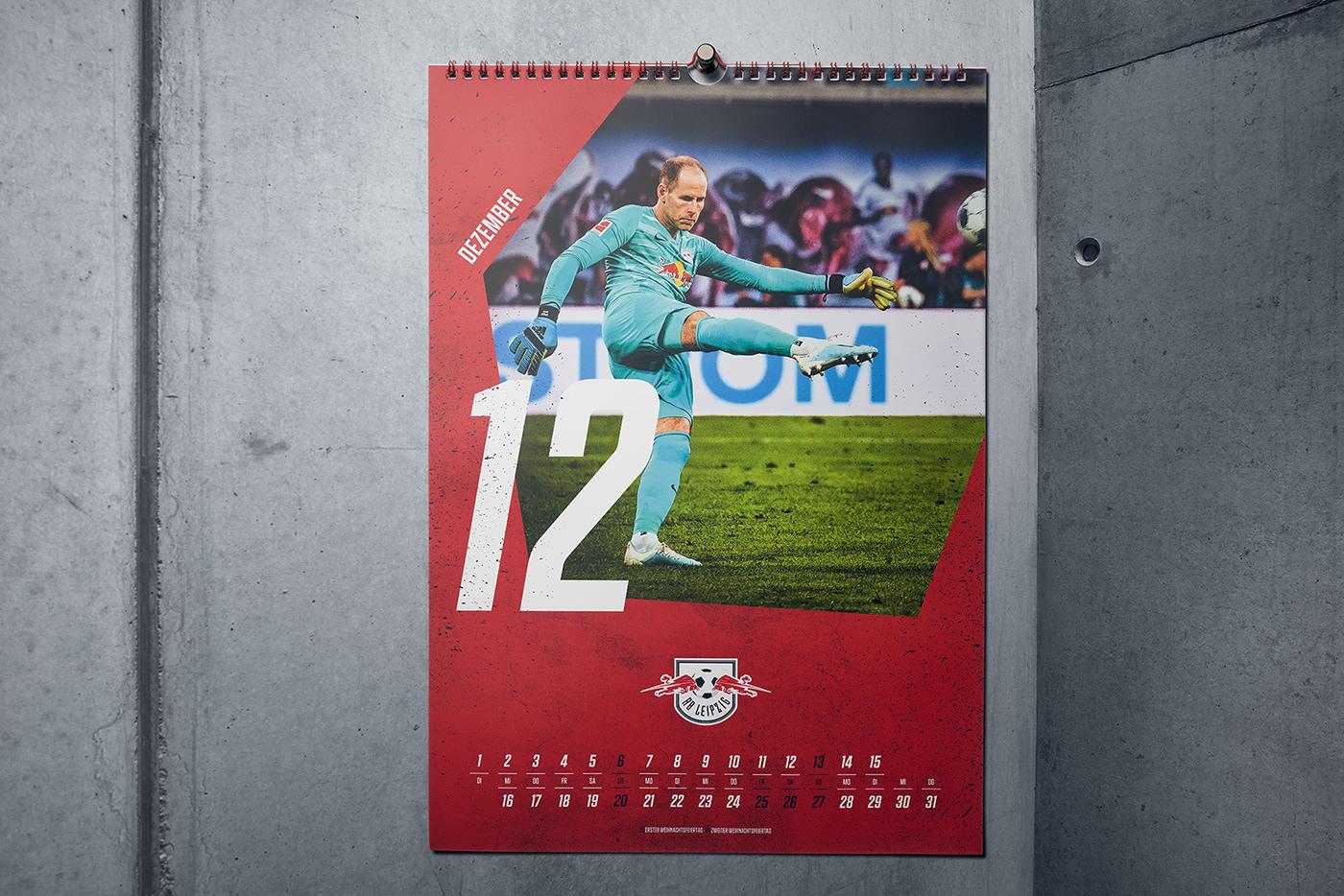 calendar football graphicdesign printdesign wirsindartisten