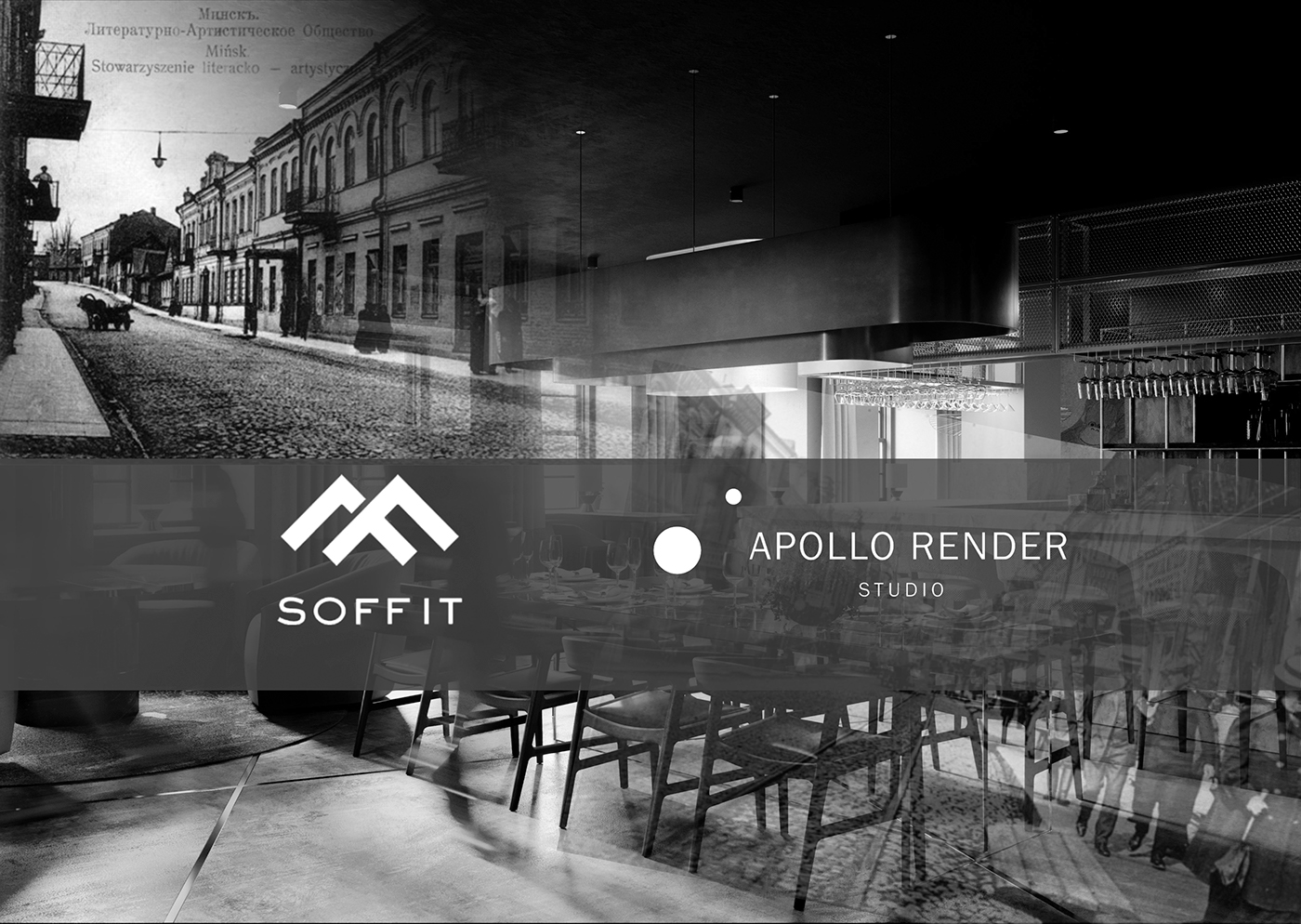 restaurant 3dsmax corona CG new ApolloRender design architecture furniture Project