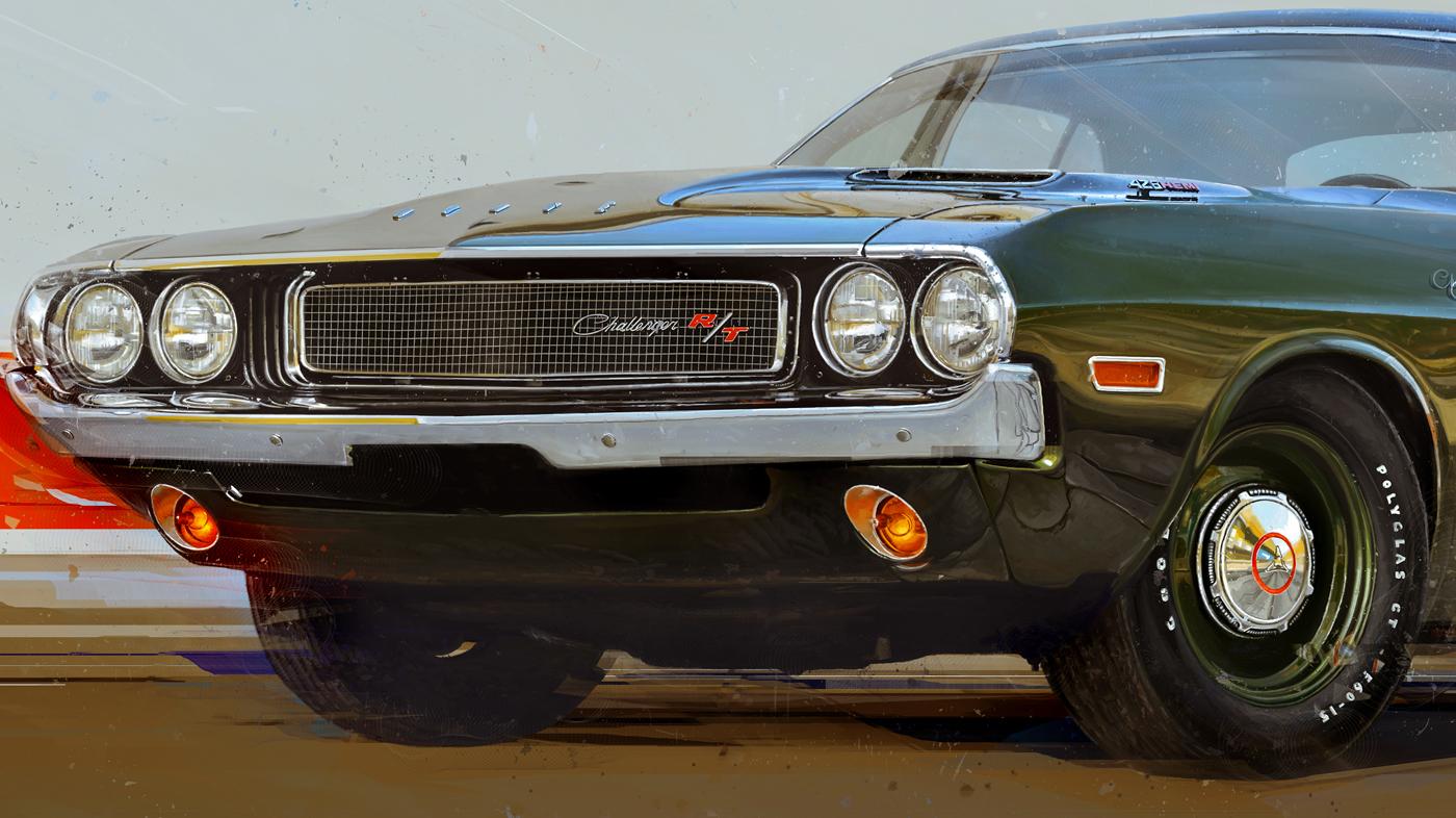 car poster sports Retro Auto print magazine cover publishing   editorial