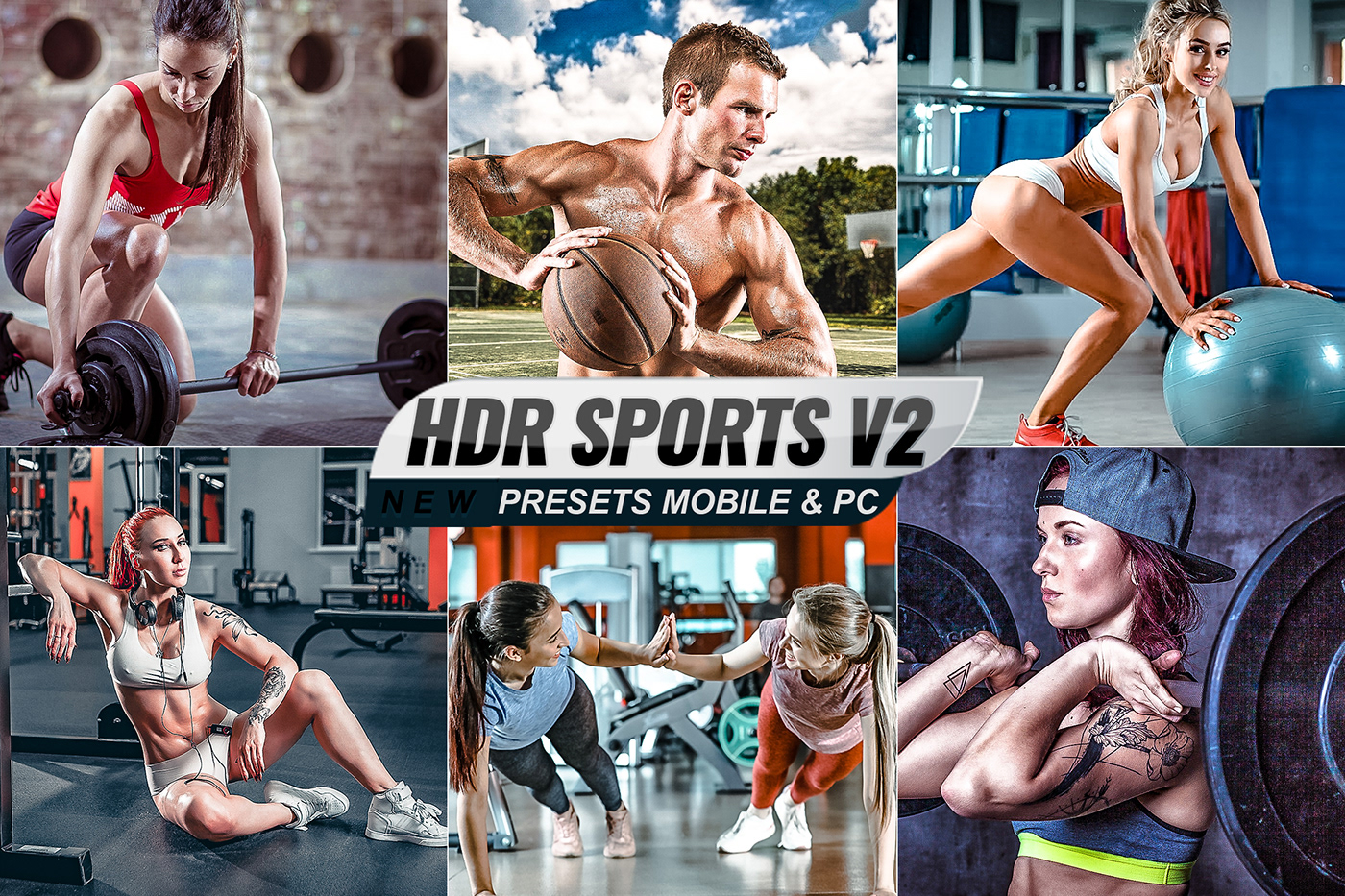 Fashion  fitness HDR HDR presets hdr sports mobile portrait sports