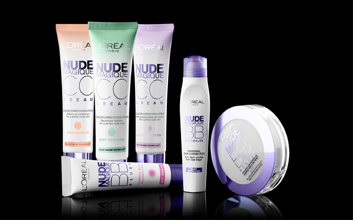 L'oreal Paris design Packaging cosmetics Design packaging