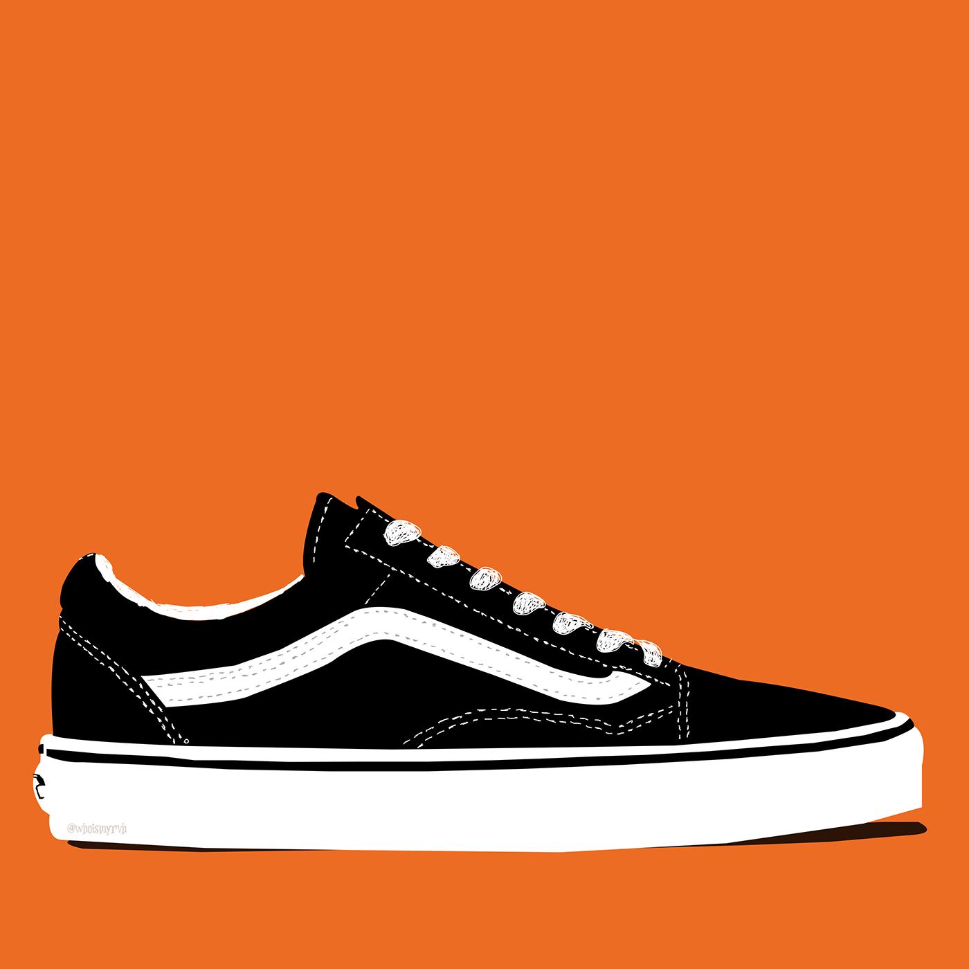 adidas,converse,highfashion,hypebeast,Minimalism,Nike,philadelphia,sneaker,Vans,vectorart