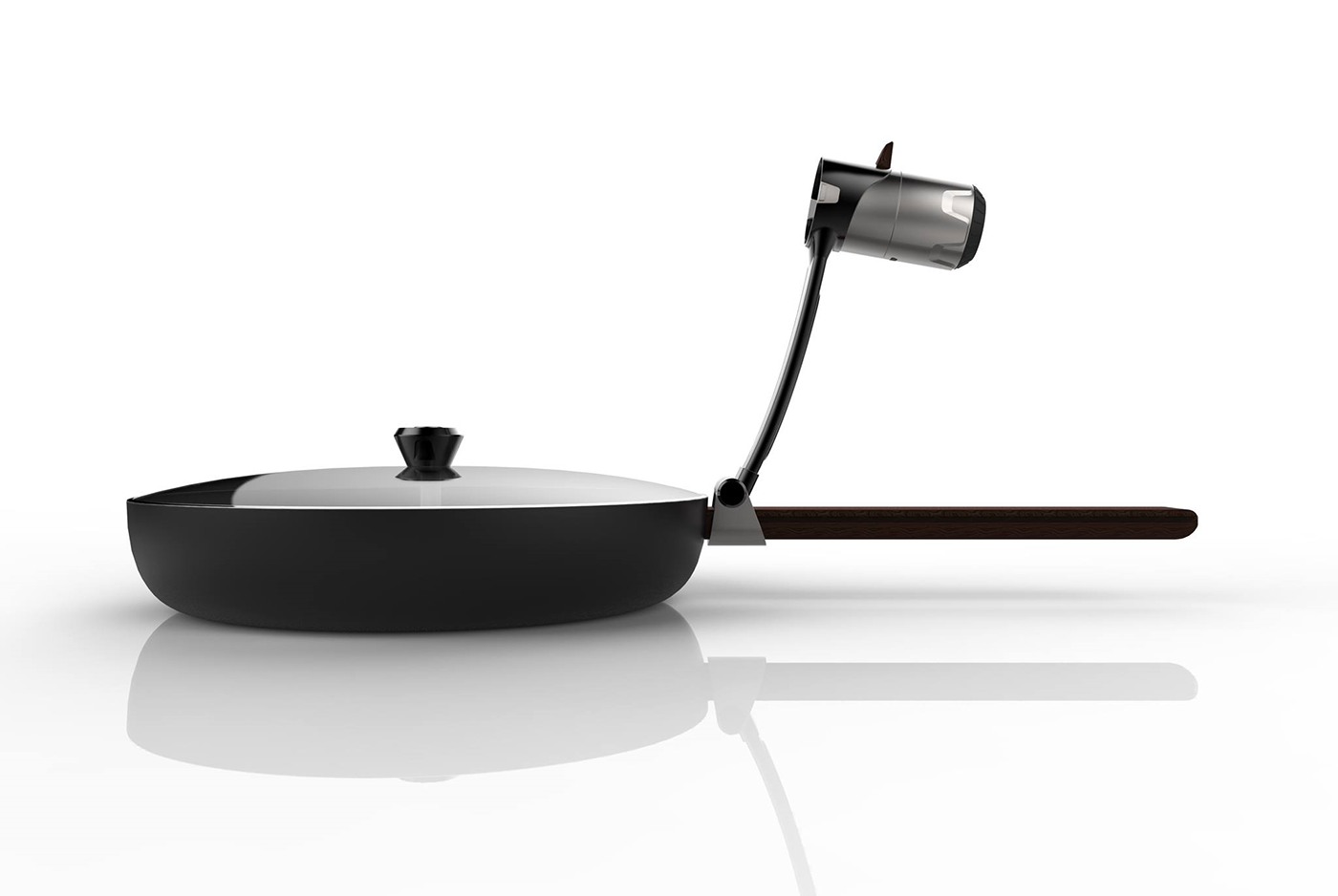 Smart Frying Pan (Electrolux Design Competition 2016) on ...