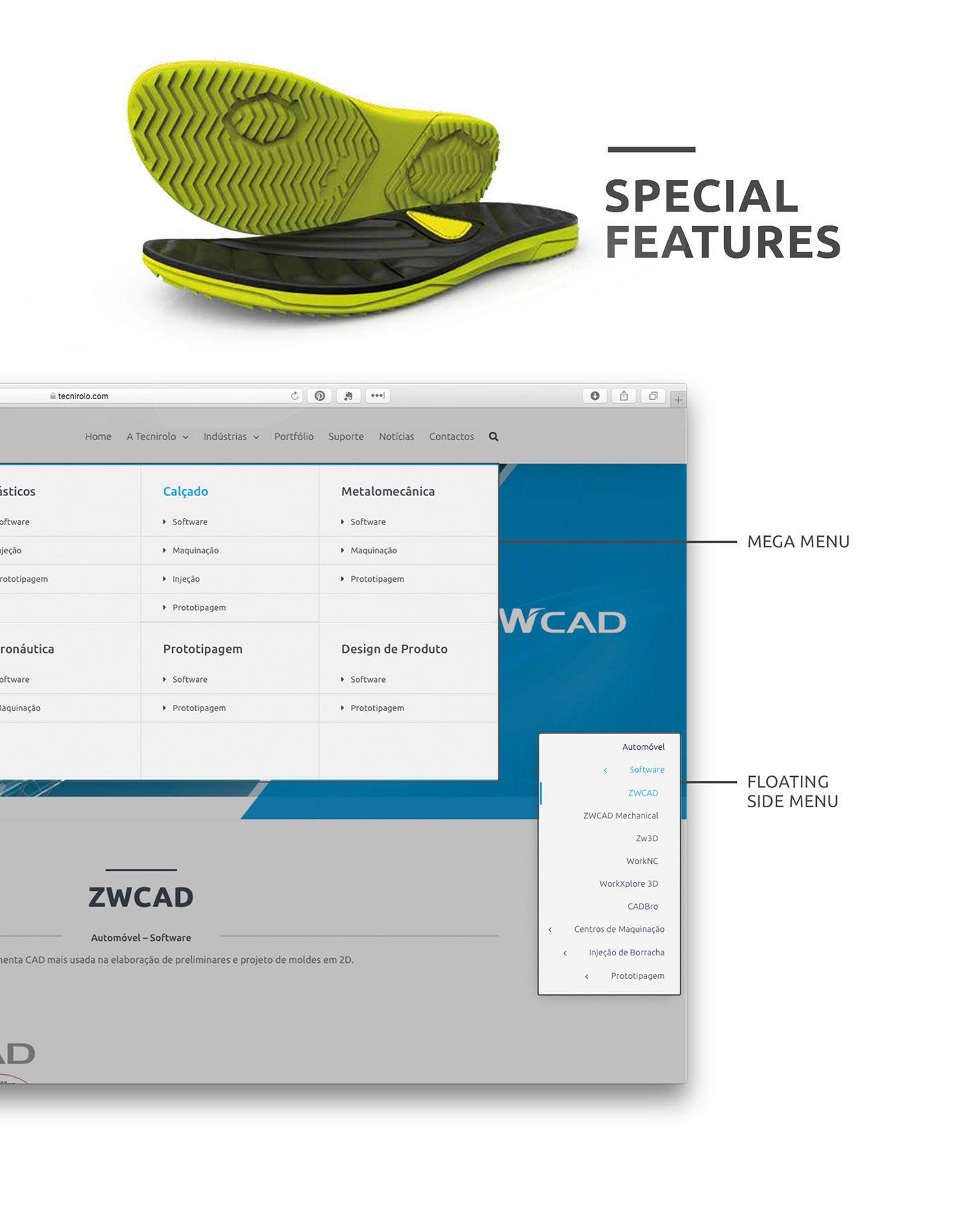 wordpress Web Design  code web develop Layout photoshop Engineering  industrial 3D industry