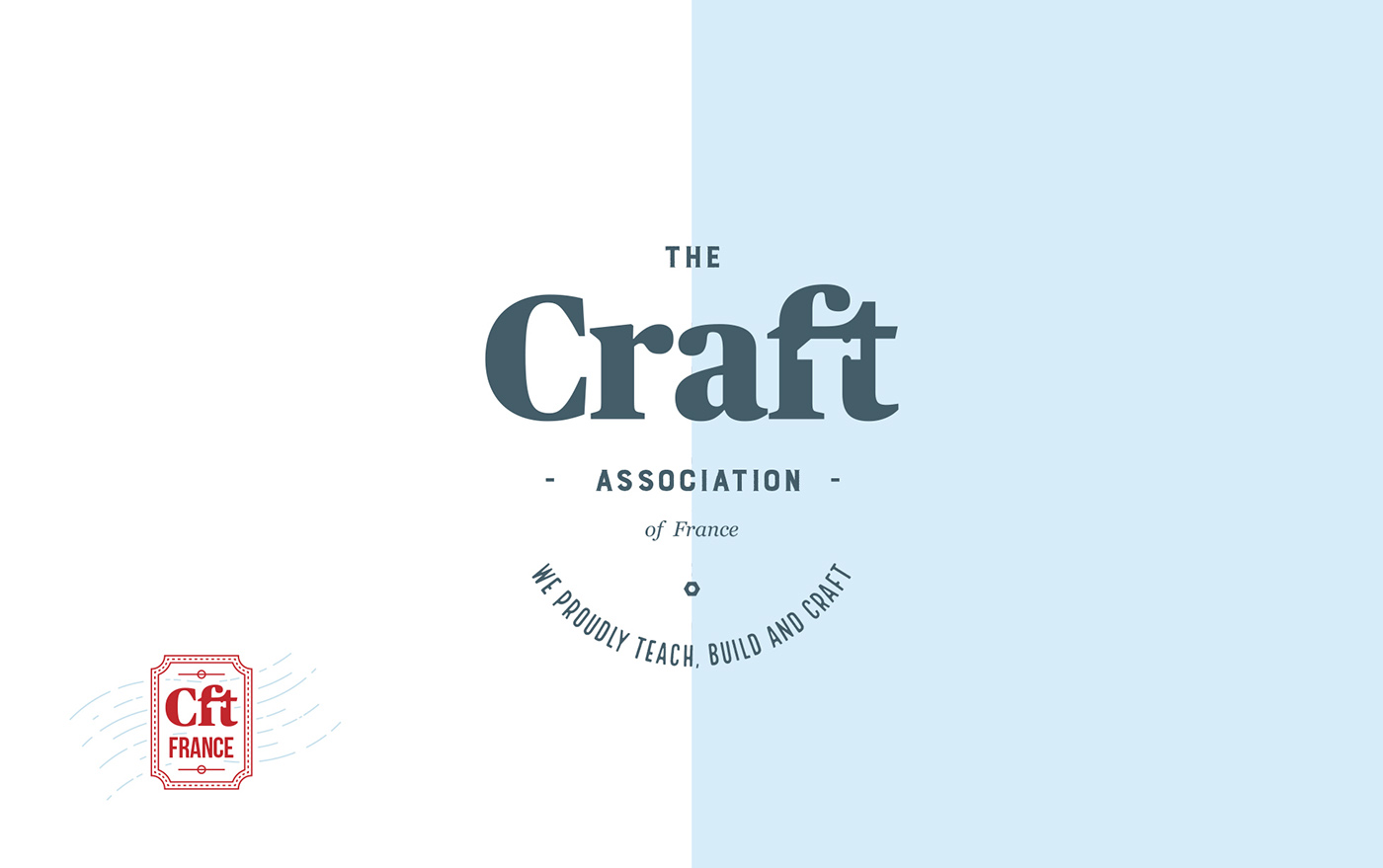 The Craft Association Of France Branding On Behance