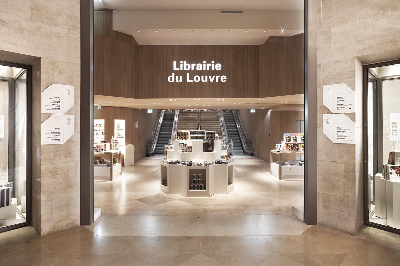 signalétique Culturel musée louvre RDAI architecture UNDO-REDO