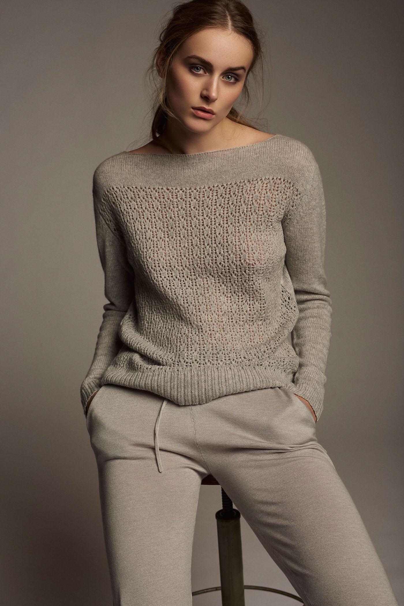 knitwear campaign studio Henrik Adamsen