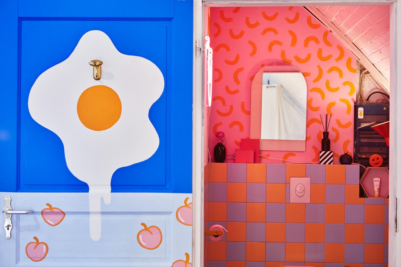 Image may contain: cartoon and bathroom