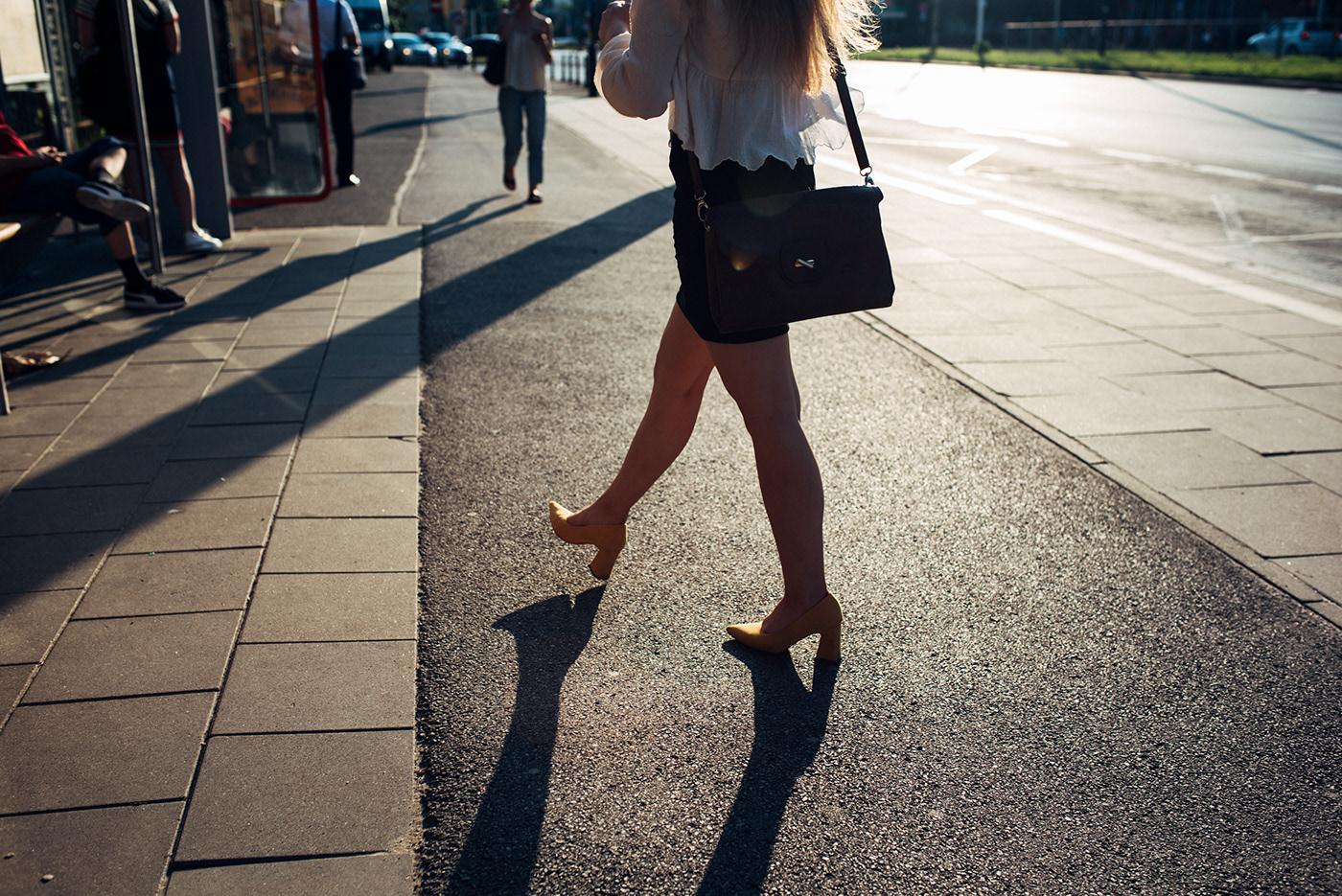 candid cinematic moments Nikon Photography  Street summer warsaw