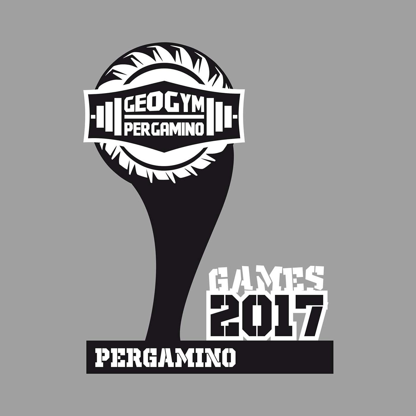 Publicidad para GeoGym de los Games CrossFit 2017 on Behance f80b491e7bc