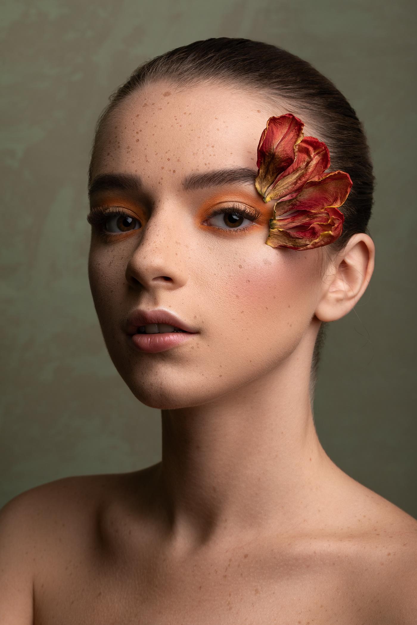 beauty edit Fashion  FINEART light makeup model Photography  portrait retouch