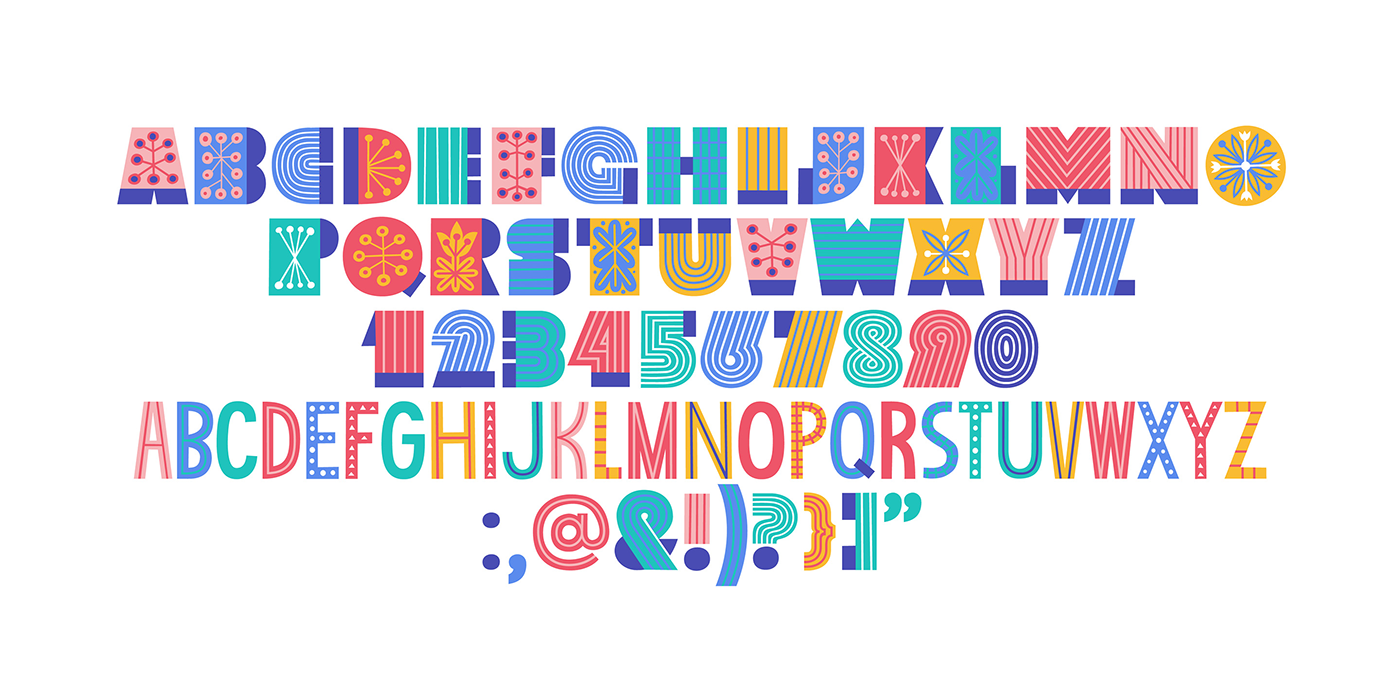colorfont sudtipos typography   graphic design  fonts typography inspiration branding