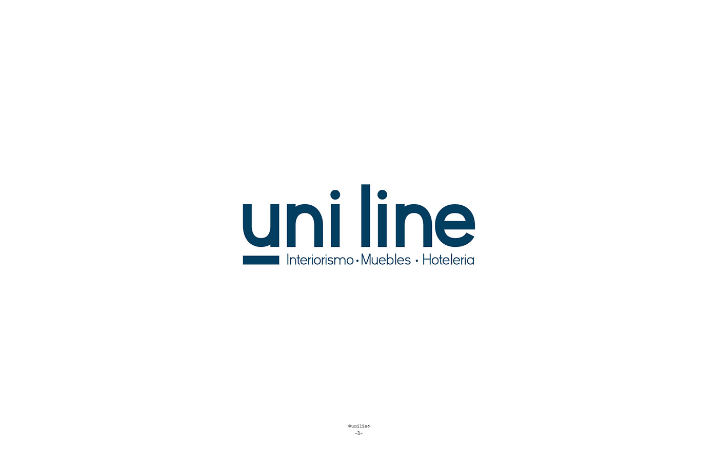 Uniline Branding Identity On Behance # Muebles Tio Sam