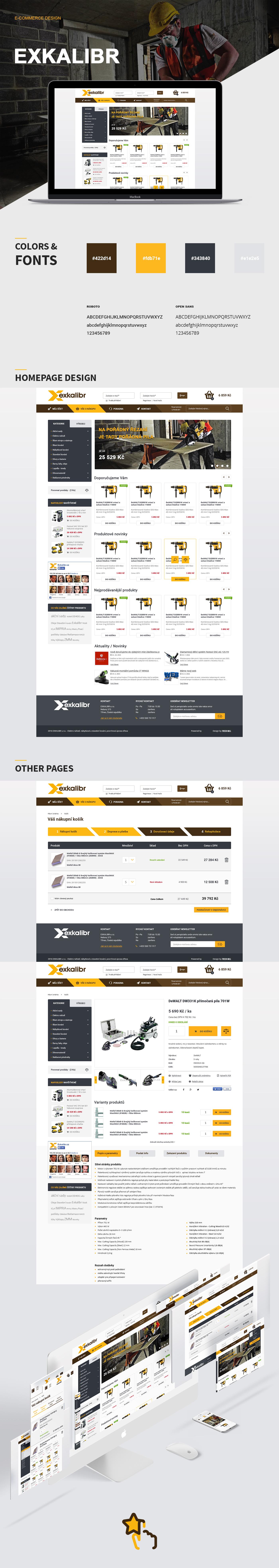 Web design eshop Ecommerce tools jaroslavhach build graphic