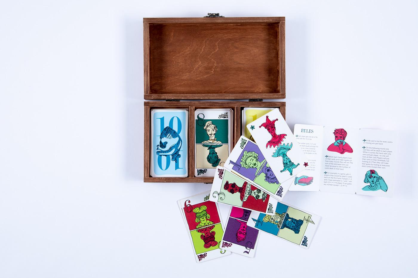 cards game design ILLUSTRATION  board game graphic design  D&AD