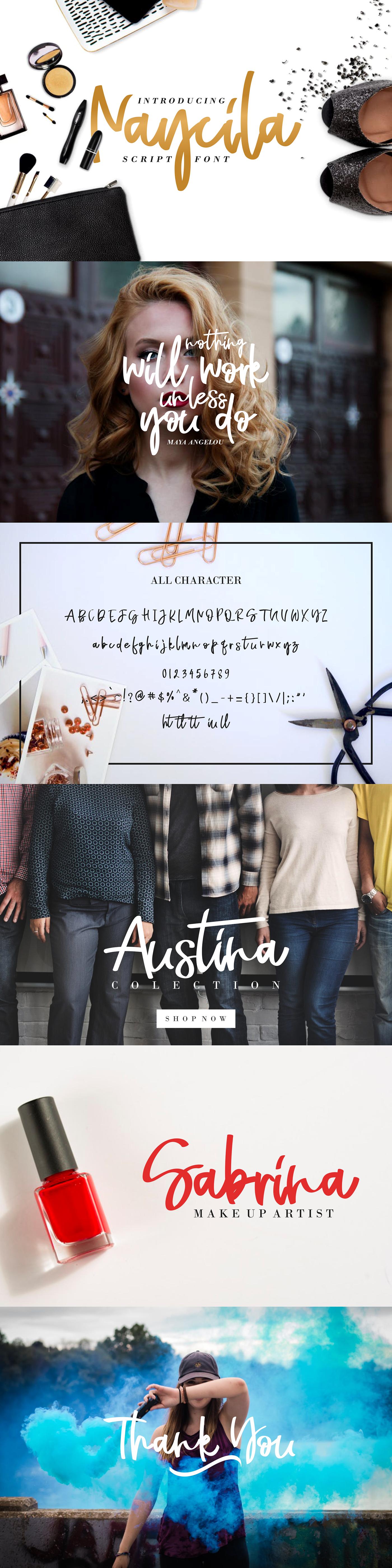 font free Script handwriting vector design quote logo Fashion  typography