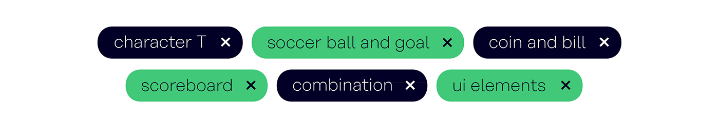 app logo soccer sports gambling branding  germany