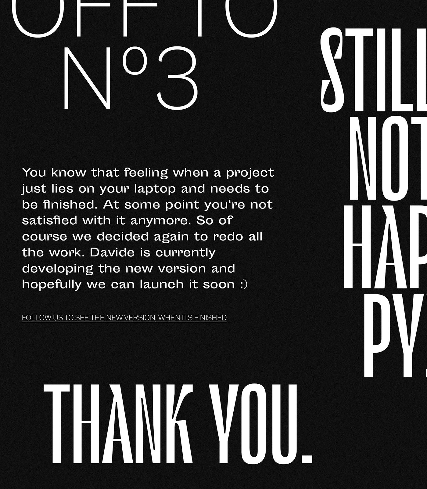 typography   grid Layout interactive Adobe XD art direction  developer portfolio Webdesign graphic design