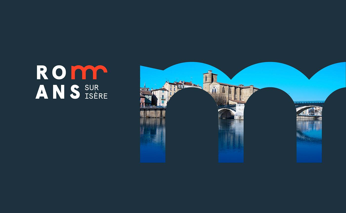 logo branding  design minimal city