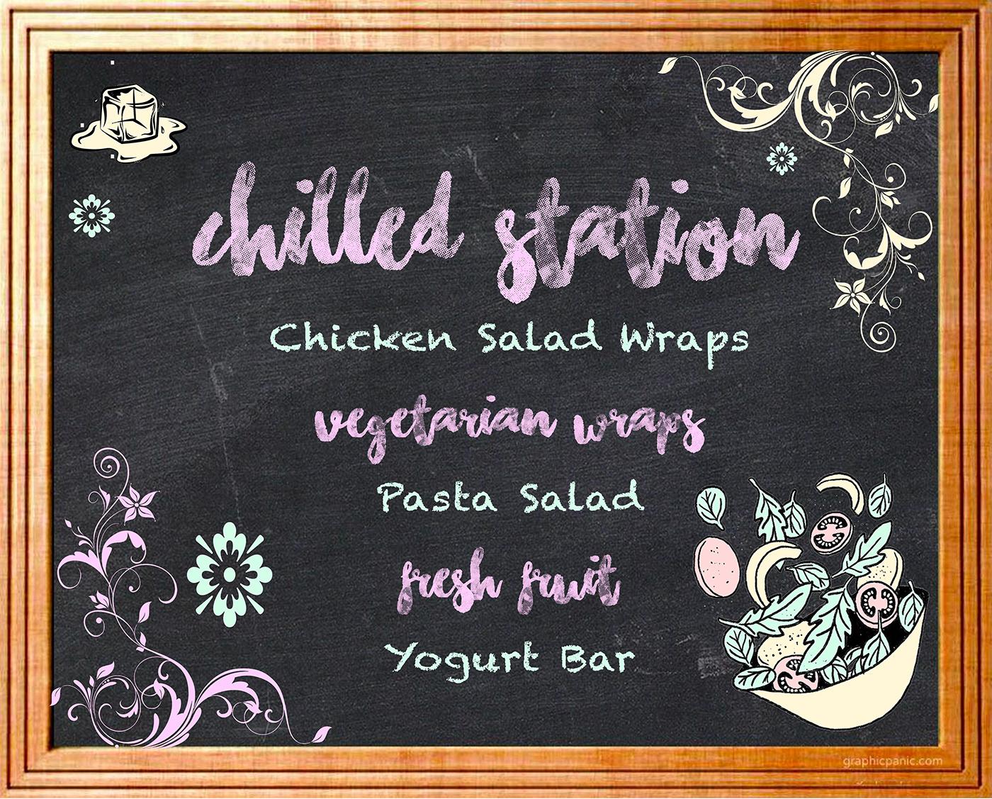 Image may contain: handwriting, blackboard and menu