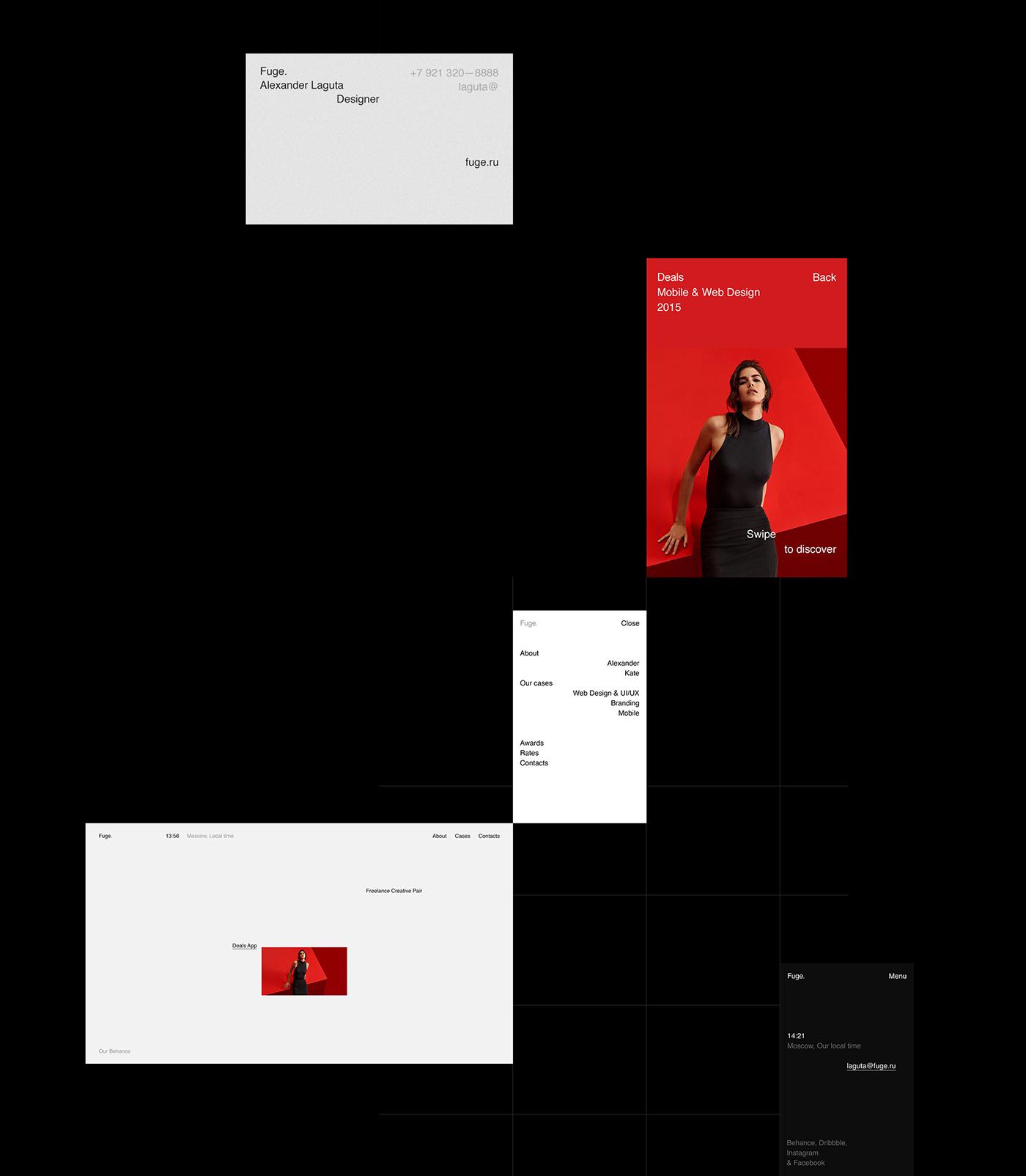 Grid Based Web Design for Fuge.
