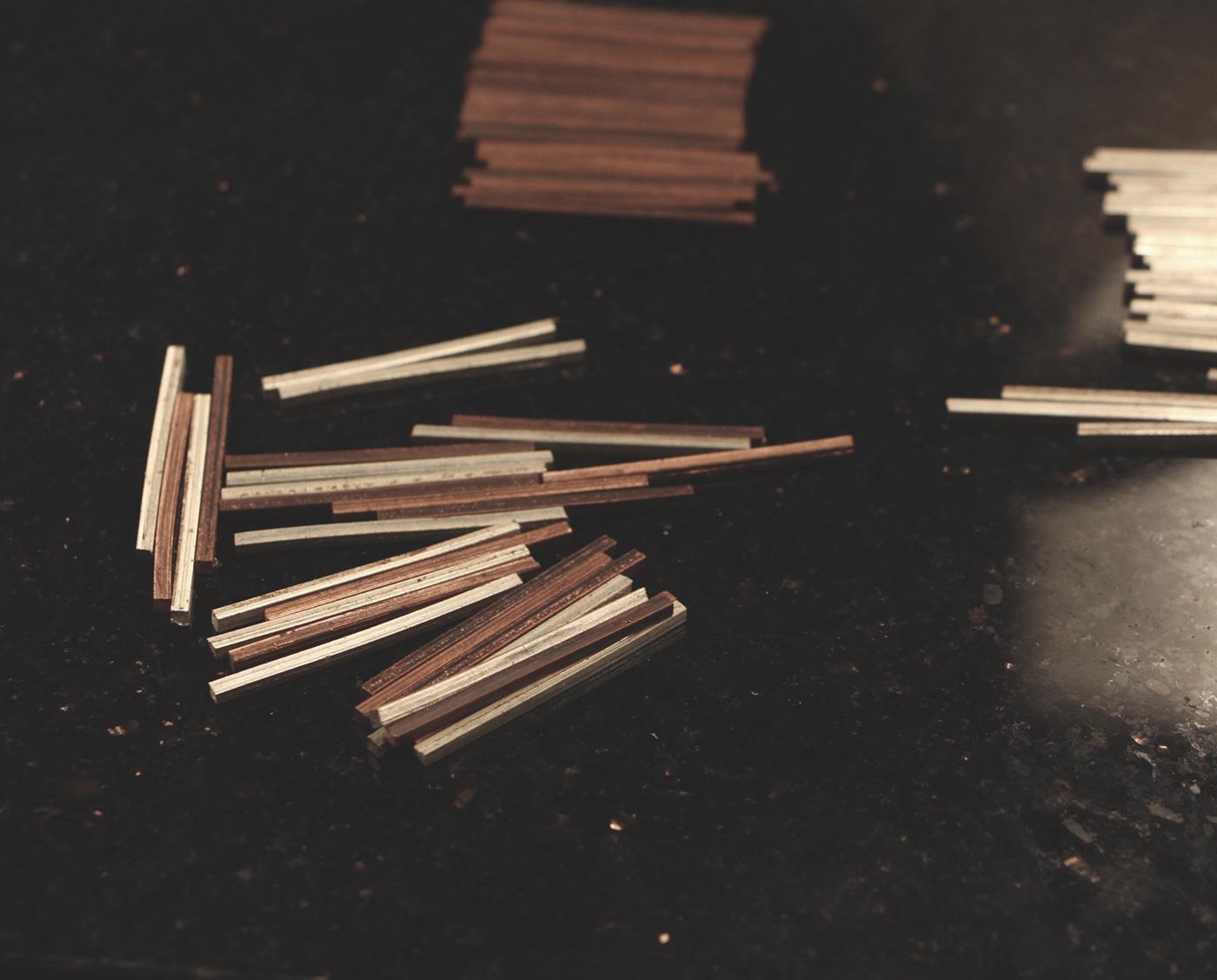 mokume mokume gane ring copper silver fusion japanese metalsmith metal jewel