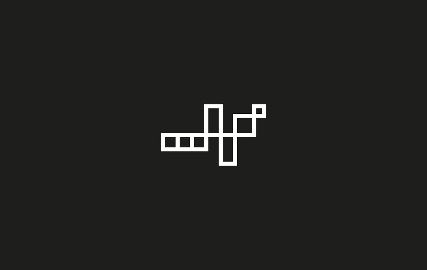identity logo black Kufi Kuwait KSA amman arabic pattern design