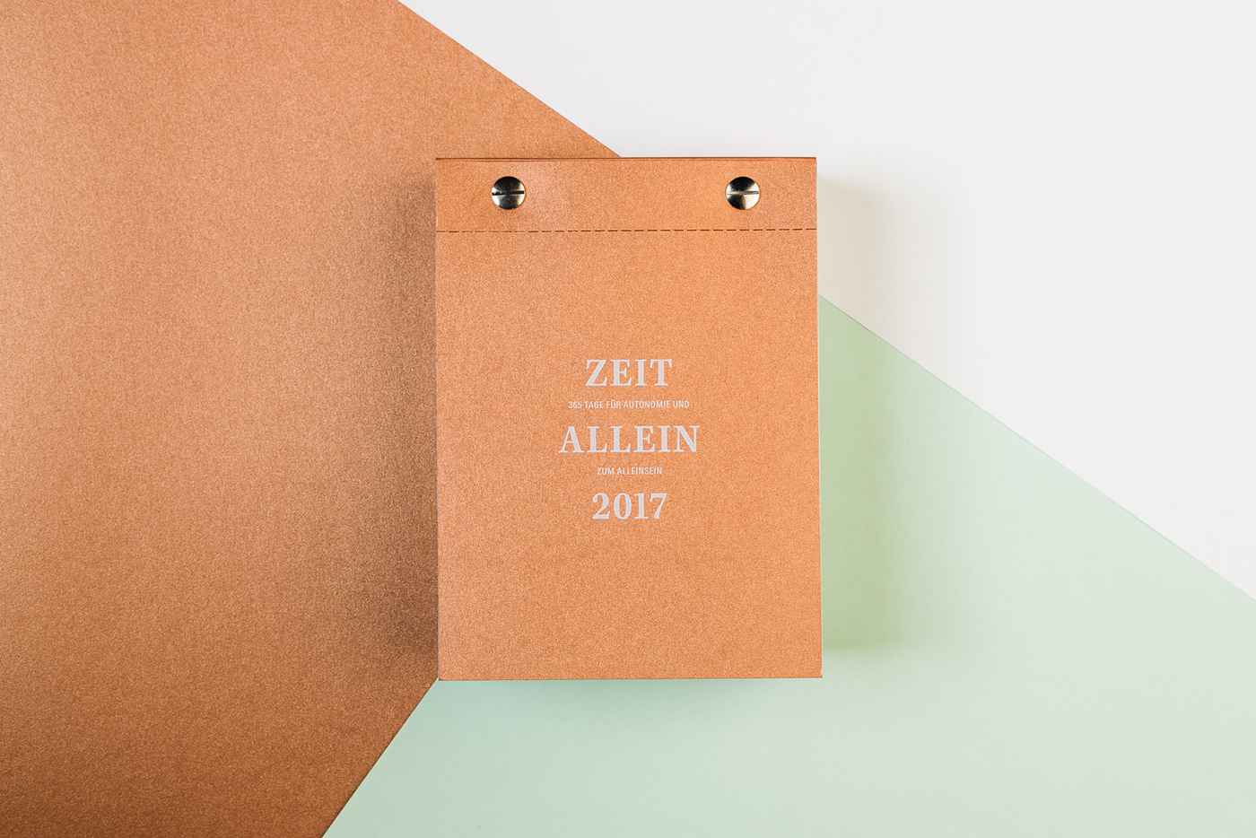 calendar contemplation copper year alone binding thesis print Layout Autonomy