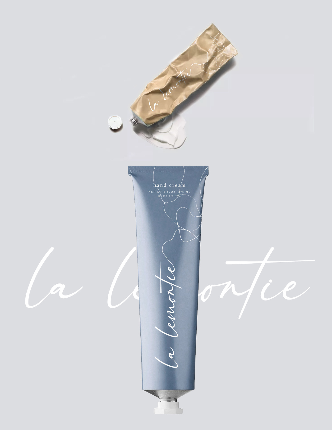 beauty branding  cosmetics cream for sale hand cream Packaging