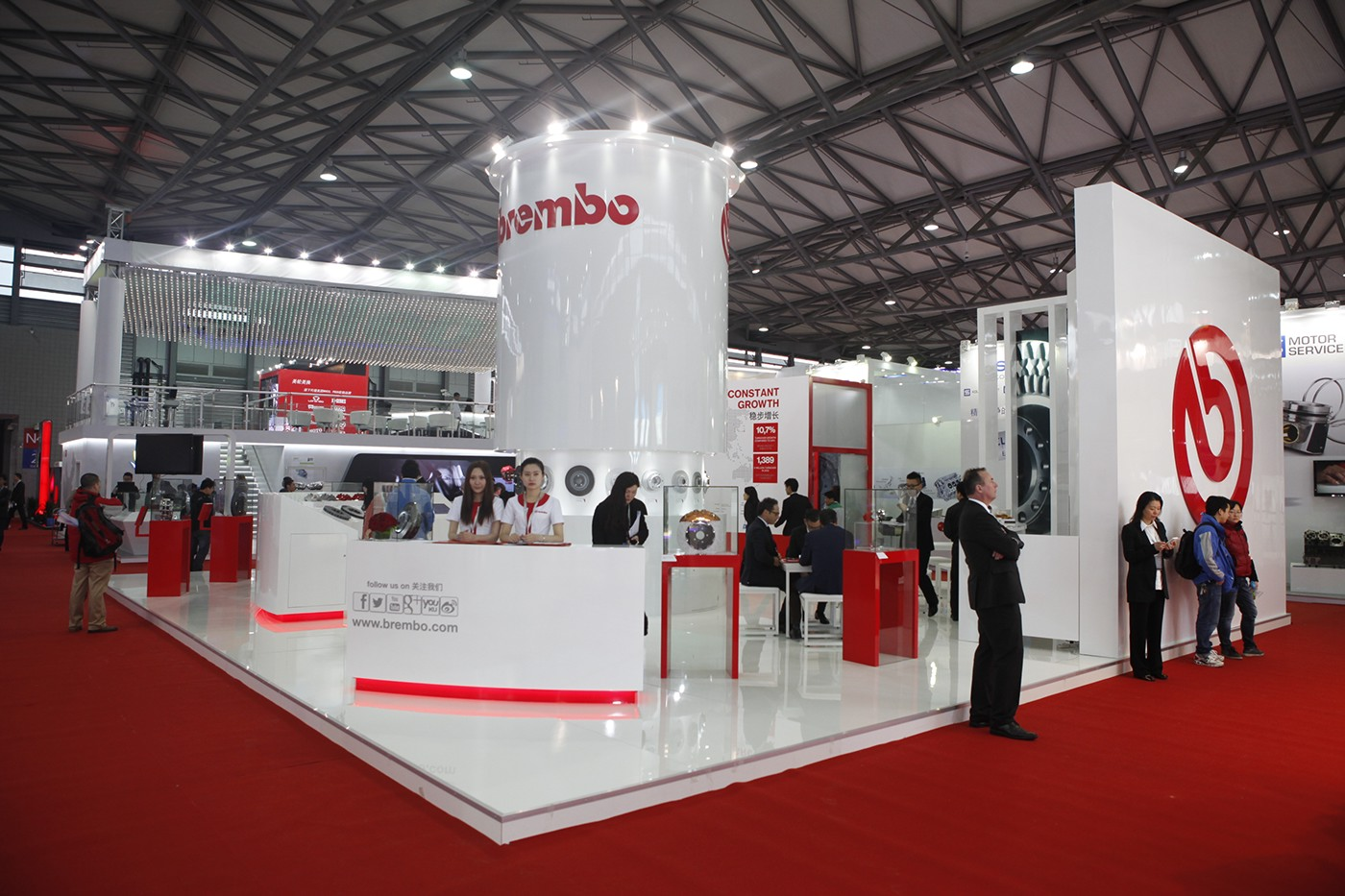 Exhibition Stand Modules : Brembo booth autoshow shanghai on behance
