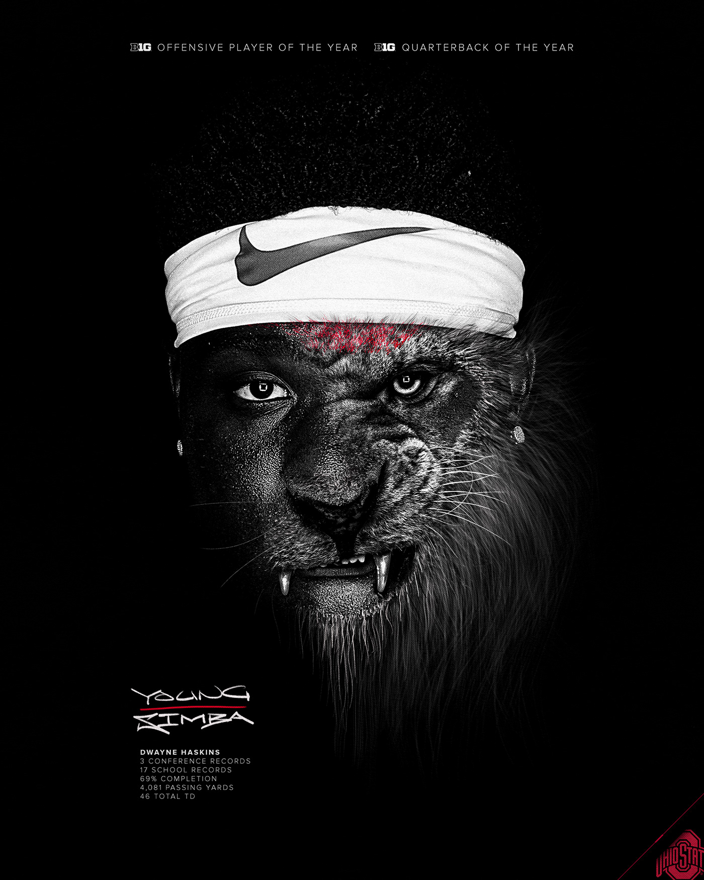 ILLUSTRATION ,digital painting,Procreate,drip,sports,Nike,LeBron,ohio state