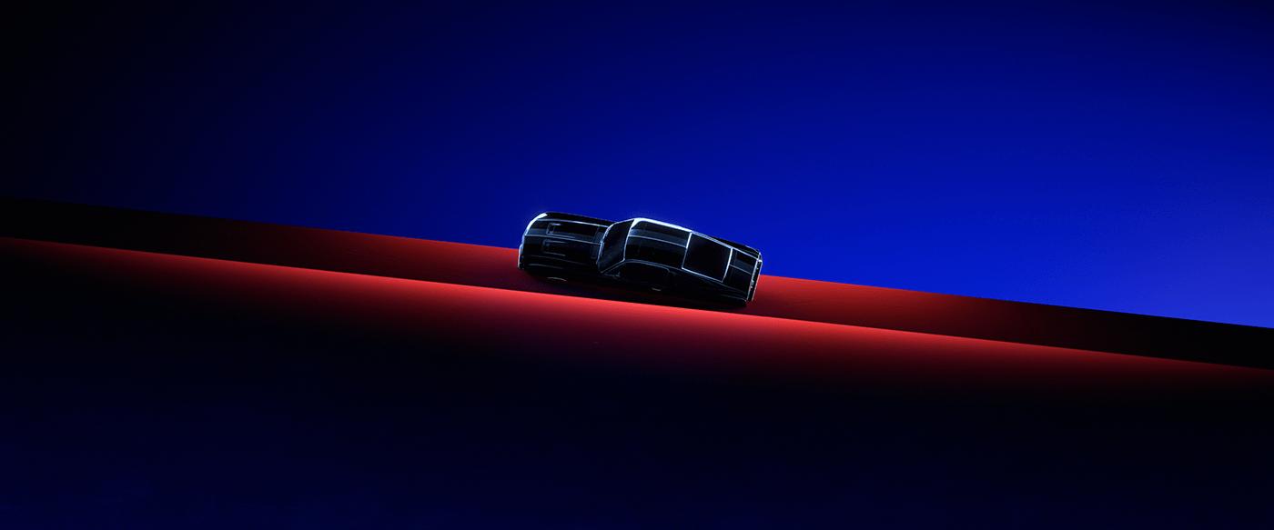 3D 3d art c4d cinema 4d design Mustang octane redshift Render styleframe
