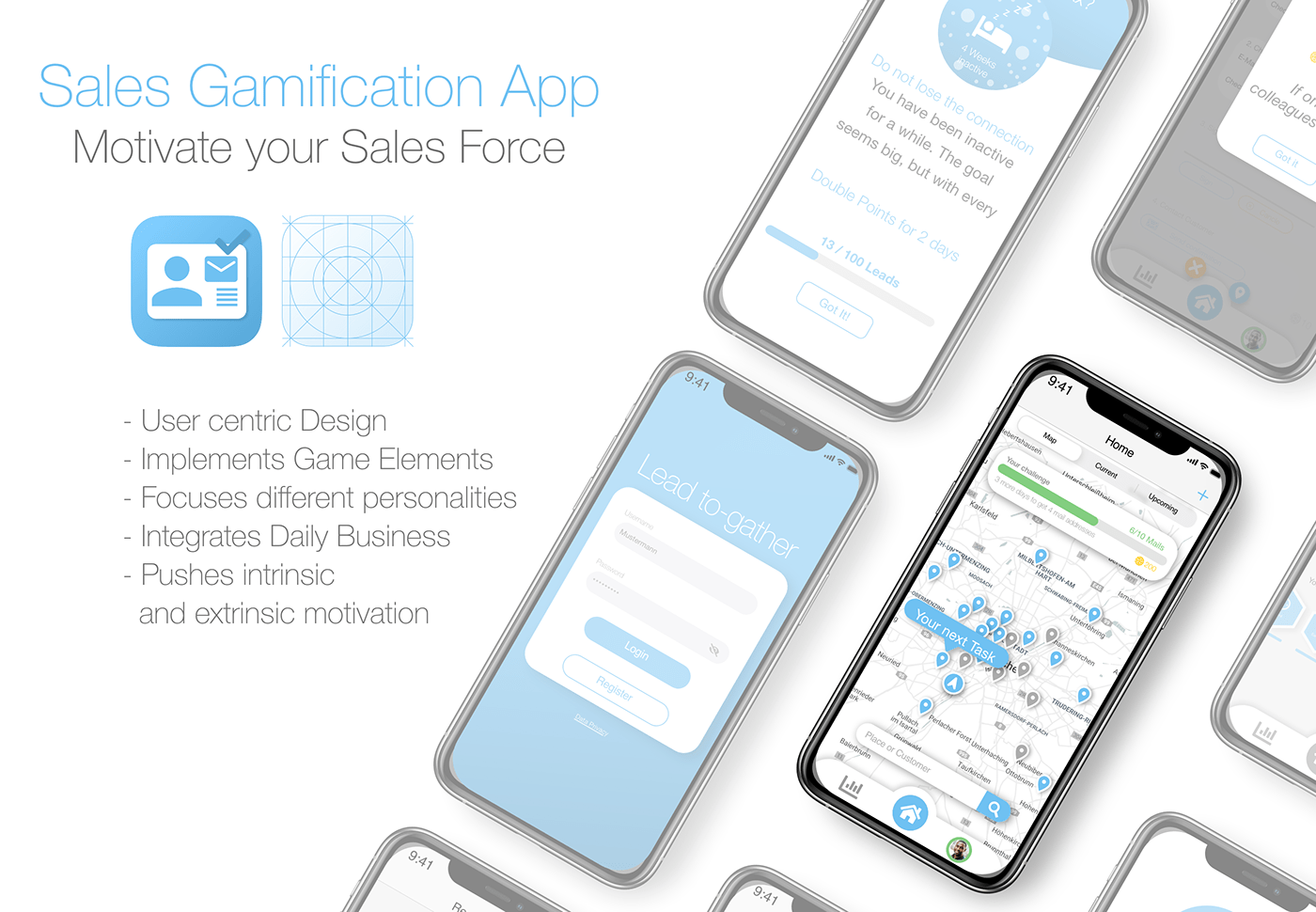 app b2b gamification ios mobile sales scientific paper thesis