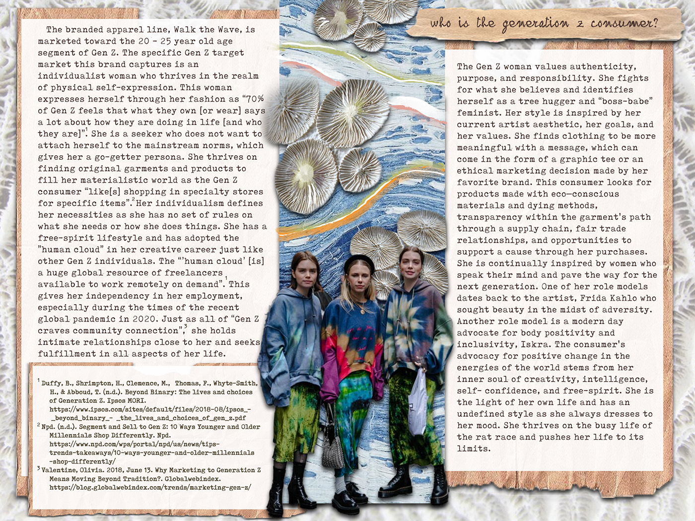 concept development design fabric research Fashion  fashion design fashion illustration generation z print design  Sustainable Fashion technical flats