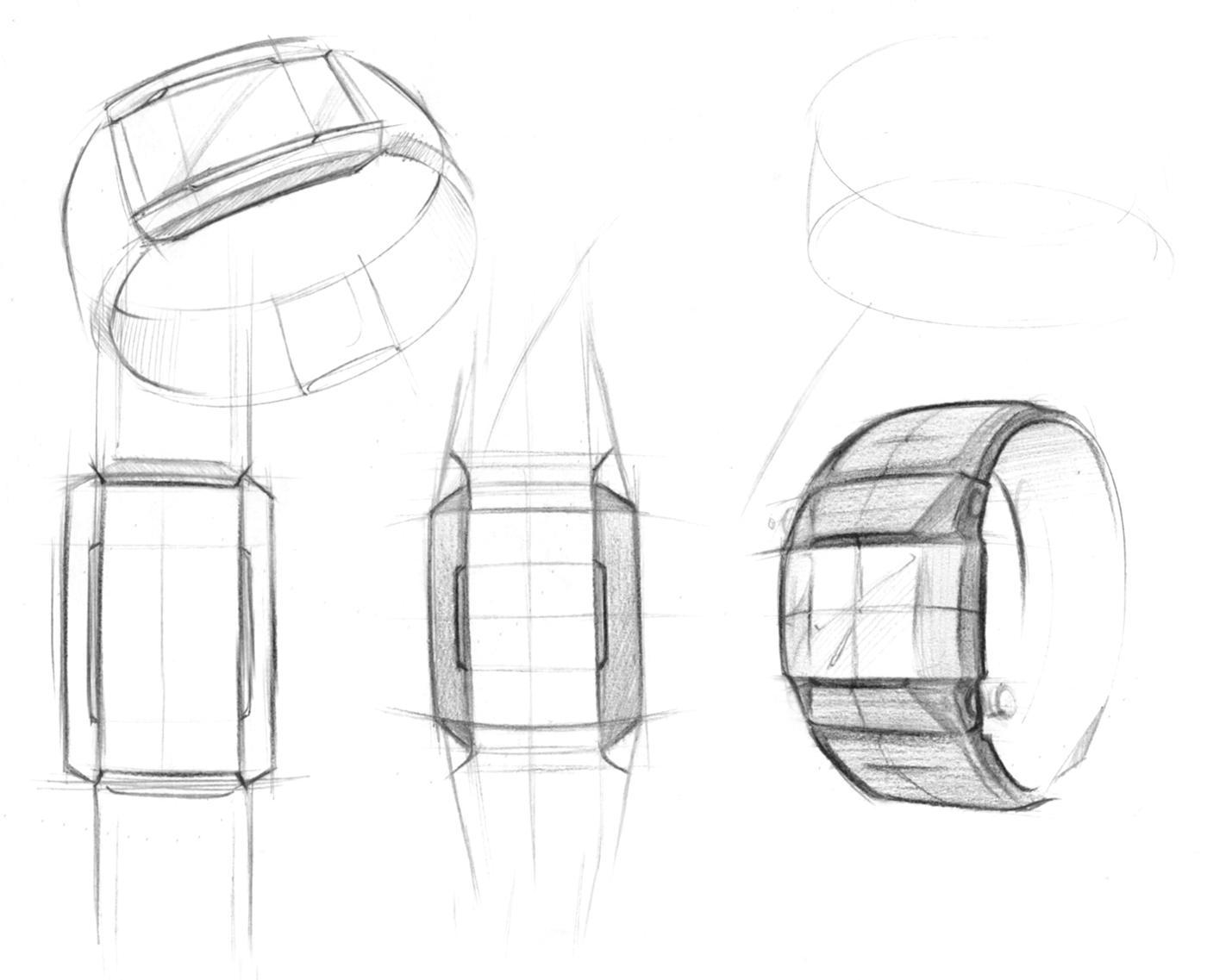 men u0026 39 s watch design  on behance