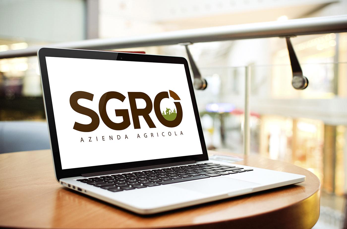 azienda agricola logo brand Website brochure