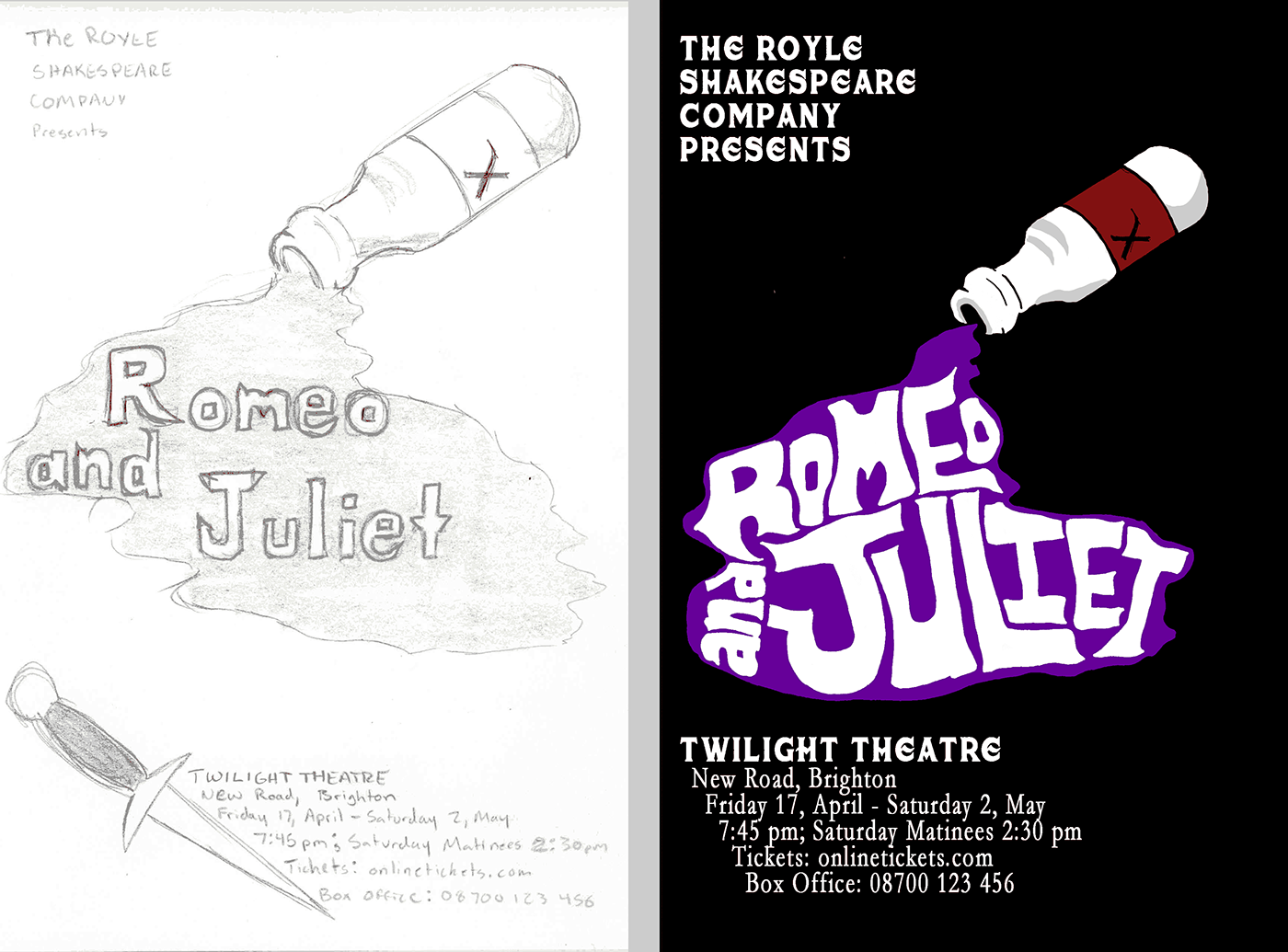 Romeo And Juliet Poster Design On Behance