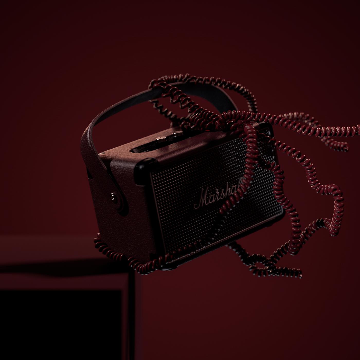 3D animation  art art direction  CGI motion Render speaker