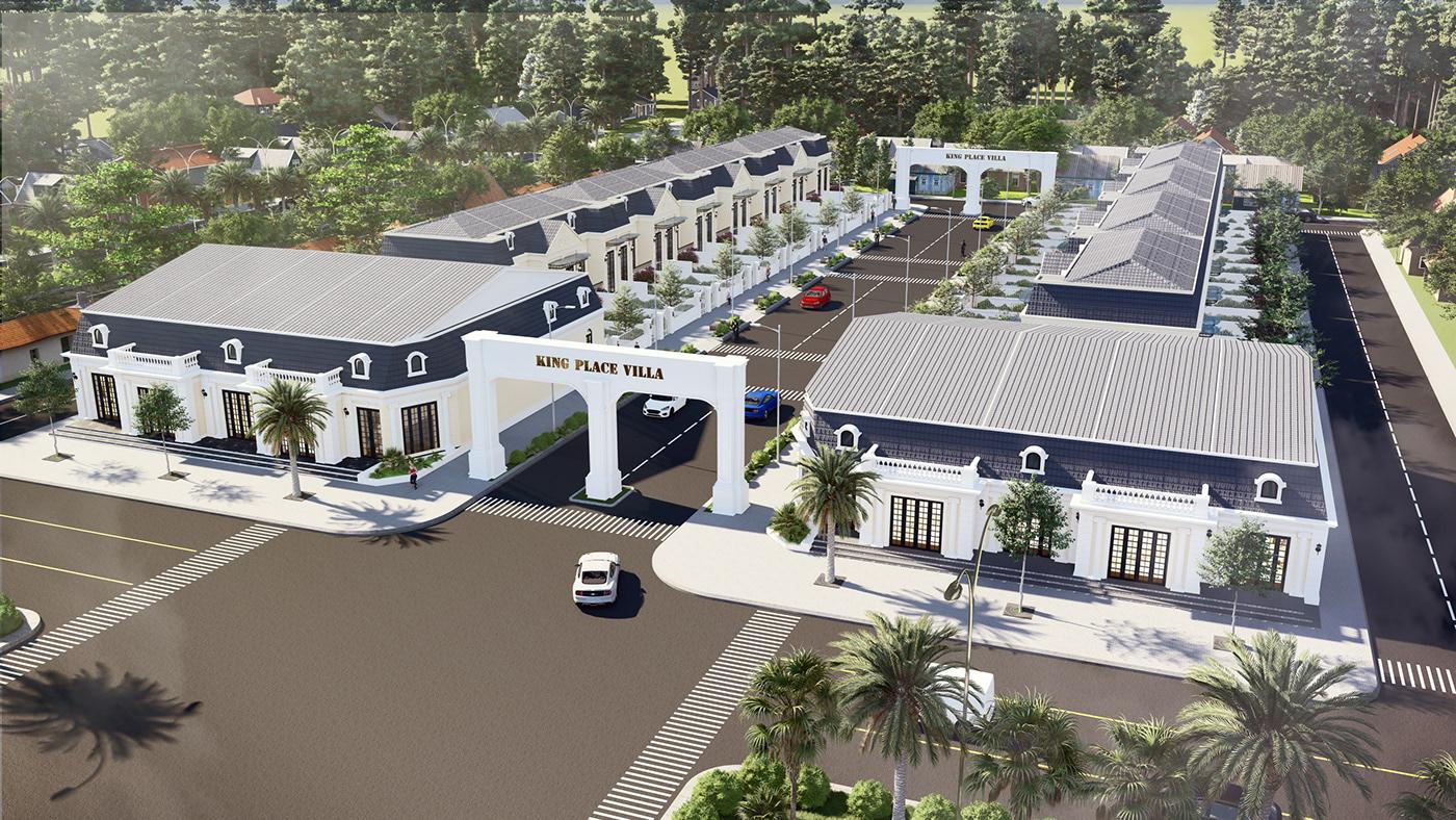 ec design lanscape design lumion Master Plan Urban Design Urban Planing