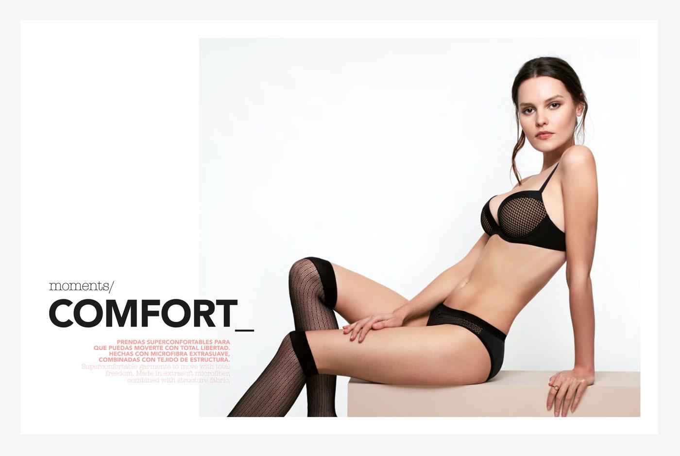 Catalogue catalogo underwear lingerie gisela Ropa Interior icons