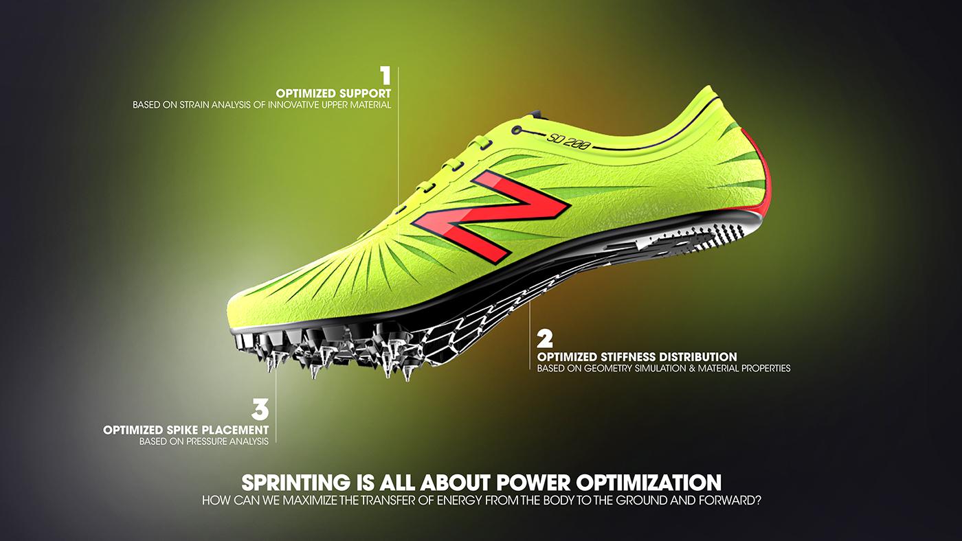 New Balance / SD200v1 sprint spike on