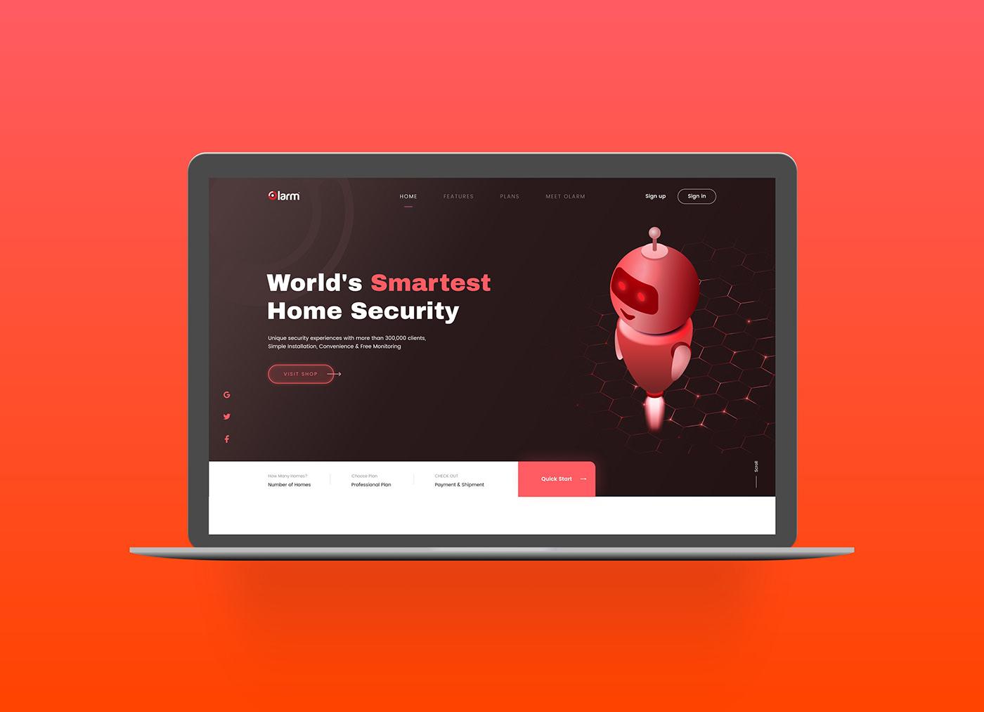 free adobe xd free download free ecommerce website Free Sensors Store