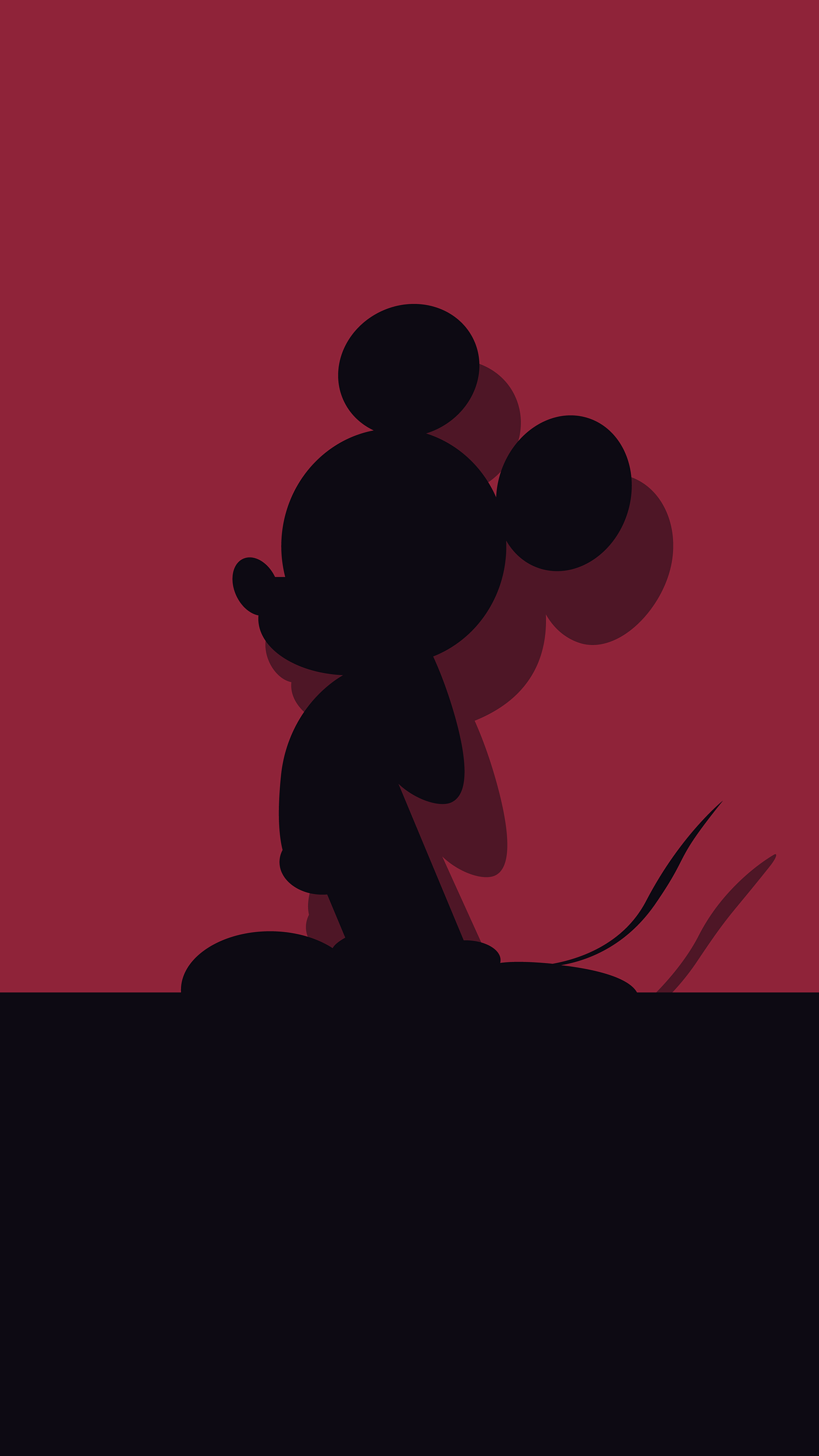 Mickey Mouse Wallpaper Collection On Behance